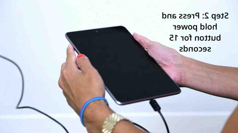Como encender tablet samsung